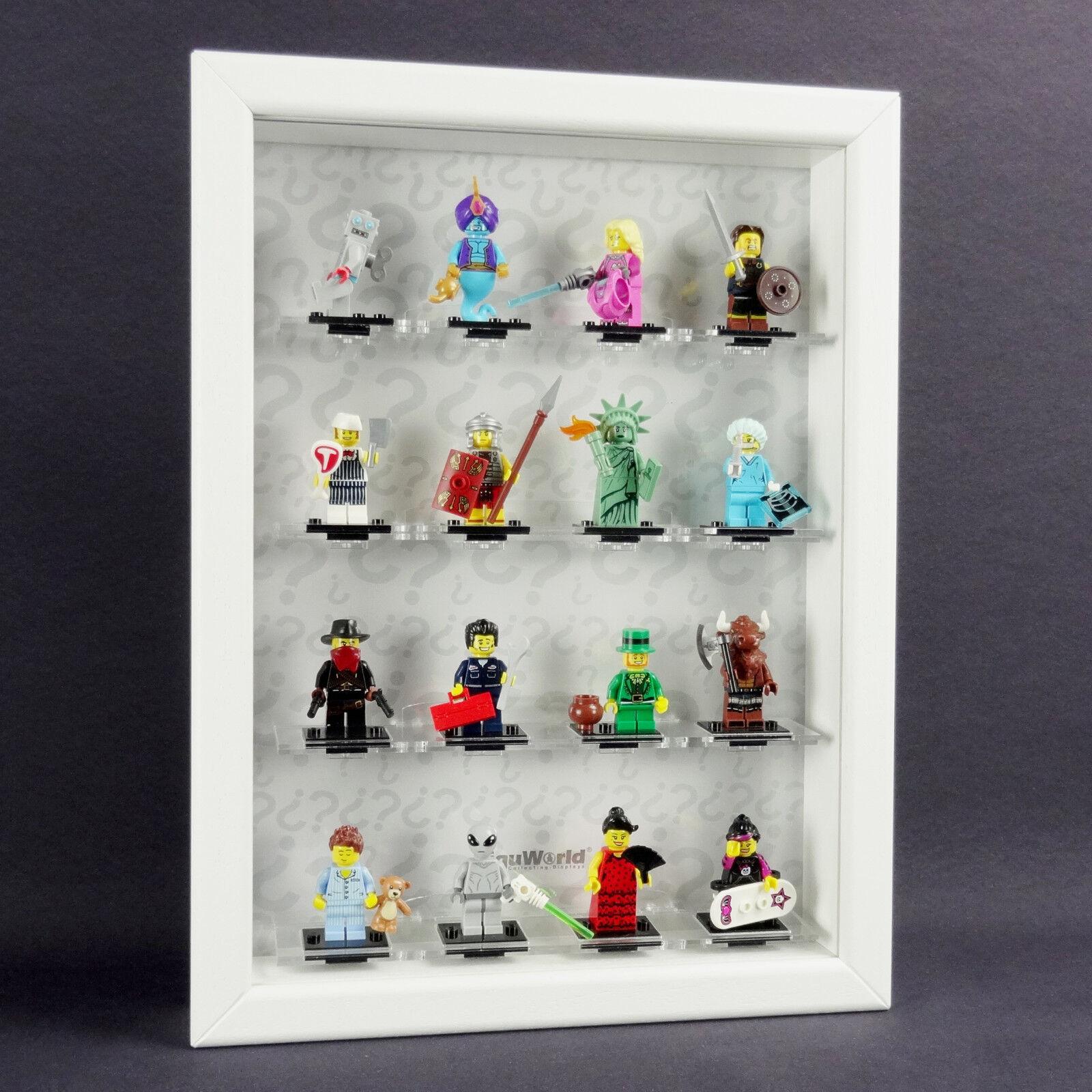 Figucase Vitrine de Collectionneur pour Lego Série 8827 Minifigures 6