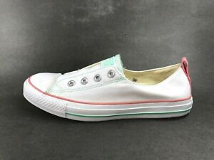 Details about Converse™ ~ ALL STAR Slip,On Laceless Shoes ~ Women Sz 9 ~  VERY GOOD