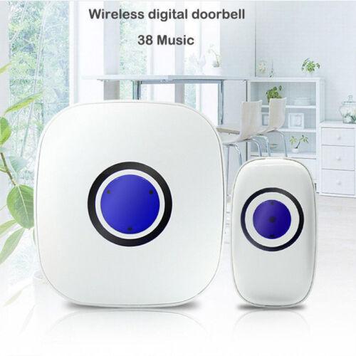 New DoorBell Smart Video Phone Door View Ring Intercom Secure Camera D