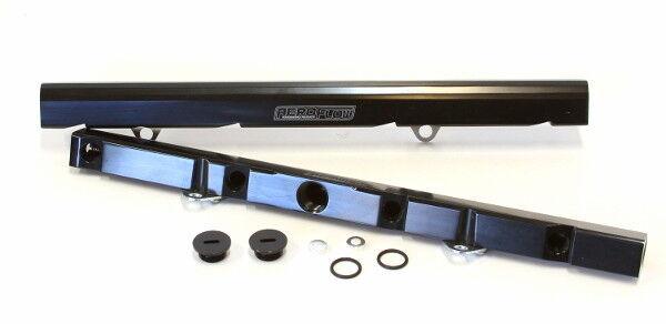 Aeroflow Billet EFI Fuel Rails (Black) Suit Ford 5.0L EFI V8