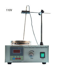 Us Stock Lab Supply 85 2 Magnetic Stirrer Hot Plate Digital Heating Mixer 110v