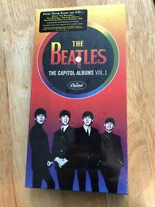 THE BEATLES The Capitol Albums Volume 1 Sealed 2004 CD Box Set Stereo Mono Promo