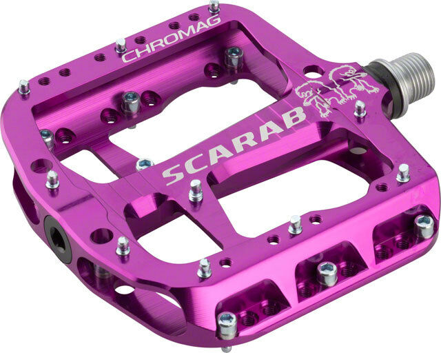 Chromag Scarab Platform pedals Bushing and sealed bearings Aluminium body Black
