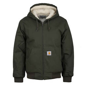 Active Cypress Invernale Carhartt Giacca Uomo Wip Foderato Oliva Pile Pelo fIf5qx6v