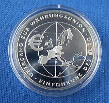 10 Euro Gedenkmünze BRD Währungsunion PP Polierte Platte 2002 F