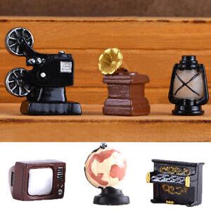 de-casa-Casa-de-munecas-Resina-Mini-Piano-Tipo-de-television-Mueble-Telefono