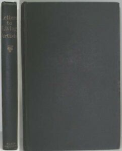 1891-JOSEPH-WILLIAM-GLEESON-WHITE-LETTERS-TO-LIVING-ARTISTS-ARTS-AND-CRAFT-ETC