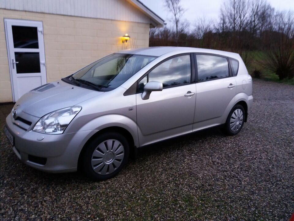 Toyota Corolla Verso 1,8 Benzin