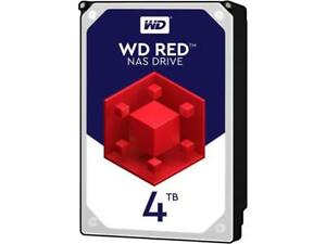 WD NAS Internal Hard Drive WD40EFRX 4TB 64MB Cache