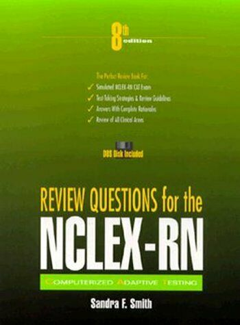 Review Questions for NCLEX-RN  Book with Diskette