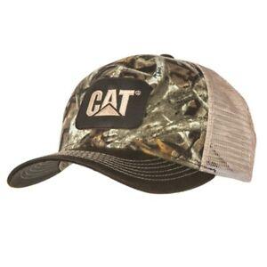 1da25bcf817a0 Image is loading Caterpillar-CAT-Equipment-Next-Camo-Snapback-Mesh-Hunting-