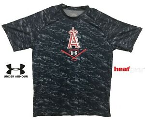 New-Under-Armour-Navy-Los-Angeles-Angels-Novelty-UA-Tech-Tee-Performance-T-Shirt