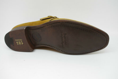 Suede Monk Shoes Uk In Cannon Fx 6 Barker Mustard FAxfWq
