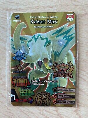 Great Animal Kaiser (GAK) Silver Champion Rare Card ...