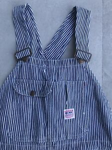 Vintage-1940-s-Big-Mac-Penneys-Overalls-Railroad-Stripe-Hickory-S-M-Workwear-30s