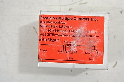 [DIAGRAM_5UK]  Precision Controls Photo Cell Model A1068 Load 1000 VA 208/277 Volt   eBay   208 Volt Photocell Wiring Diagram      eBay