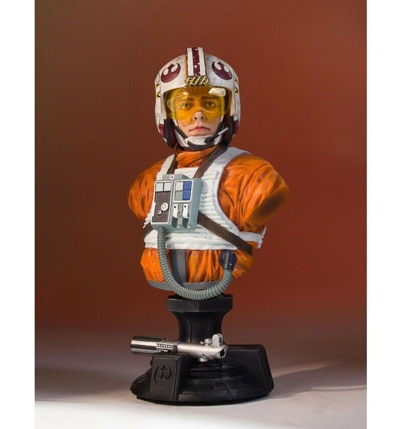 Gentle Giant Estrella Wars buste Luke Skywalker X-Wing Pilot SDCC