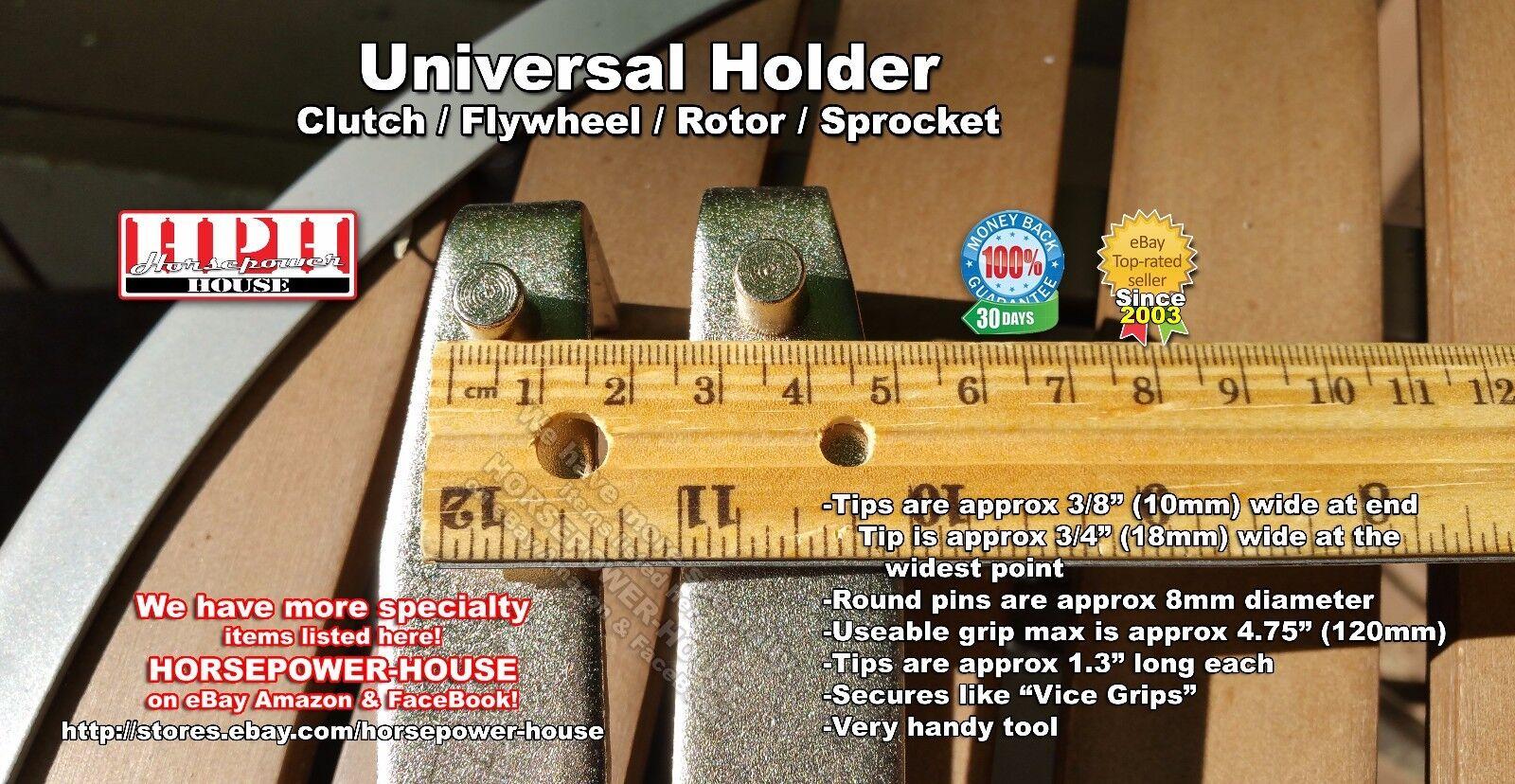 Almencla Universal Motorcycle ATV Clutch Hub Sprocket Rotor Holding Holder Repair Tool
