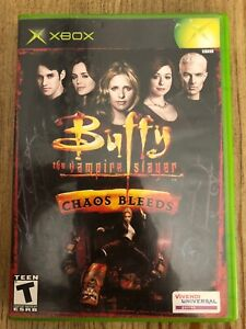 Buffy-The-Vampire-Slayer-Chaos-Bleeds-Xbox-Complete-W-box-amp-Manual