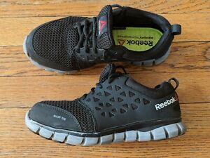 Industrializar Independiente con tiempo  Reebok Sublite Aleación Puntera De Acero Zapatos para hombre tamaño 4.5  Zapatos de trabajo para mujer Talla 6.5 | eBay