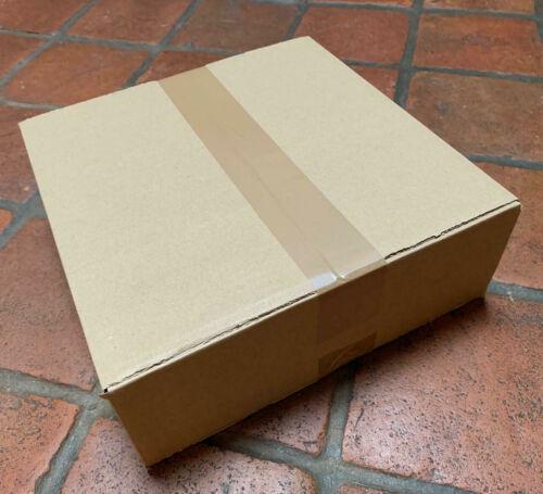 25 Versandkartons Faltkarton 283 x 283 x 96 Kartons Karton braun Versandkarton