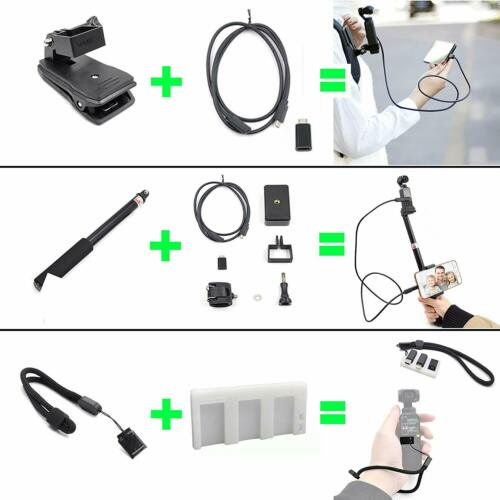 STARTRC 20 In 1 Expansion Accessories Kit For DJI Pocket 2 Handheld gimbal parts