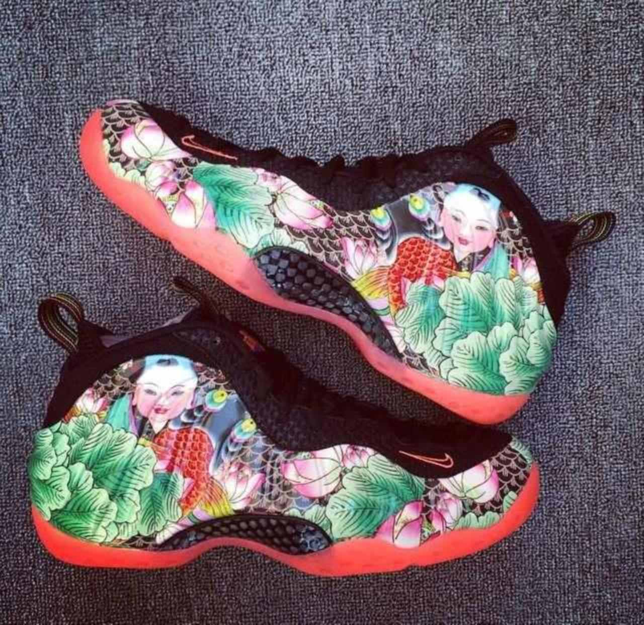 NIKE FOAMPOSITE ONE TIANJIN- PROMO  NOT FOR SALE-ONE OF A KIND-SZ 13-NEW IN BOX