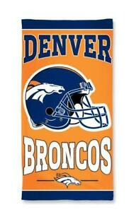 Denver-Broncos-NFL-Football-Strandtuch-Badetuch-Beach-Towel-Helm-Design