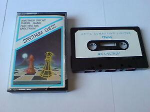 Spectre D'échecs-artic Ordinateur Limited-zx Spectrum 48k-afficher Le Titre D'origine CaractèRe Aromatique Et GoûT AgréAble