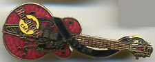 Hard Rock Cafe ASPEN 1998 Eddie Cochran's Red Gretsch Dead Rocker Guitar PIN #26
