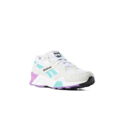Men/'s Shoes DV3747 Reebok Aztrek True Grey//Teal//Aubergine