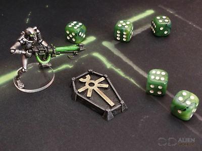 Cc3d-runico Token X6-wargames Miniature Paesaggio 40k 28mm 15mm-mostra Il Titolo Originale