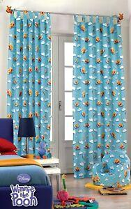 Details zu Disney Winnie Pooh Puuh 1x XXL Fertig-Einzel-Gardine  Schlaufenschal L290xB140 cm
