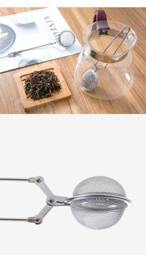 Handle Tool Tea Infuser Stainless Steel Tea Pot Infuser Sphere Mesh Tea Strainer