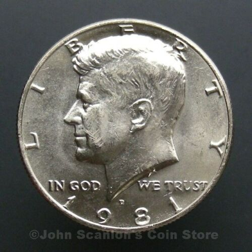 1981-D Kennedy Half Dollar Choice BU