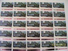 Lot of 25-1988 Peterbilt Semi Truck 18 Wheelers Trading Cards (READ AD)