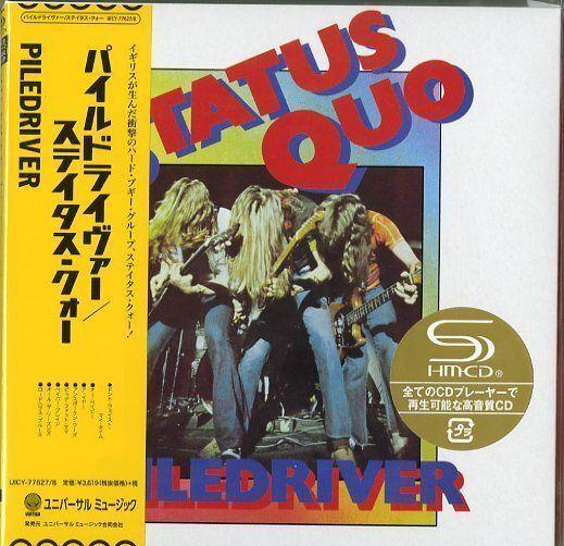 STATUS QUO-PILEDRIVER  DELUXE EDITION -JAPAN 2 MINI LP SHM-CD Ltd/Ed I50