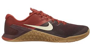 62c1cf4c5c New Nike Metcon 4 7453626 Burgundy Crush Light Cream Dune Red Gum ...