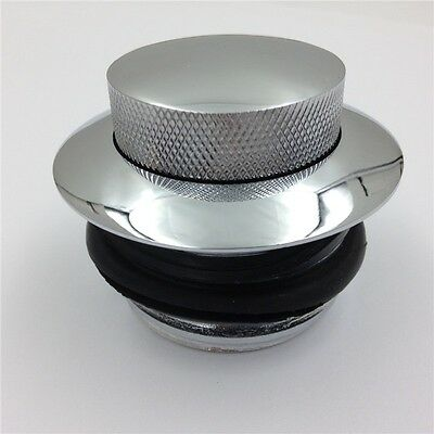 Right side Pop-up Flush Mount Gas Cap For Dyna Super Glide Custom FXDC FXD FXDP