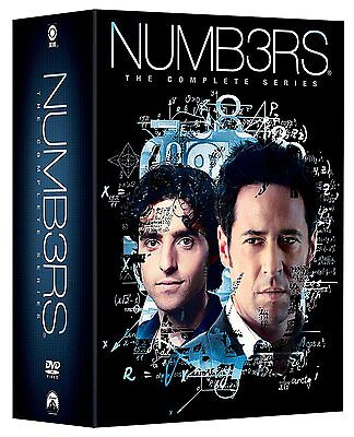 Numb3rs Complete Series Season 1-6 (1 2 3 4 5 6) ~ NEW 31-DISC DVD SET (Numbers)