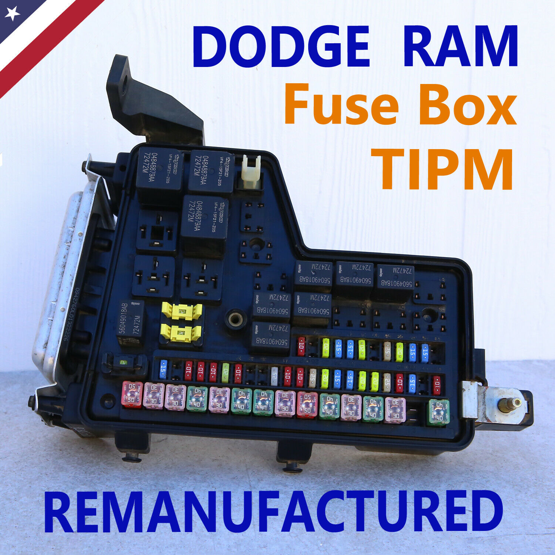 2006 Dodge RAM 2500 3500 Diesel TIPM Fuse Junction Box P0 ... Fuse Box 06 Dodge Ram 2500 eBay