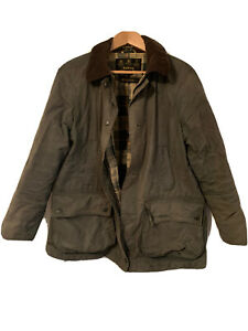 Barbour-Beadnell-Wax-Jacket-SIZE-16