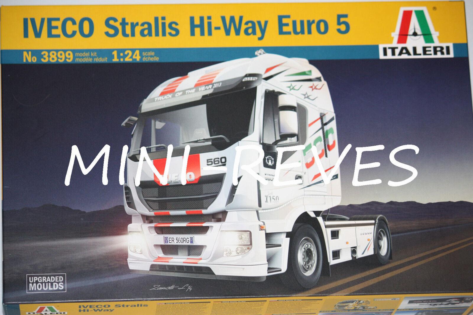 economico Italeri Camion Camion Camion Iveco Stralis Hi-Way 1 24 3899  in vendita online
