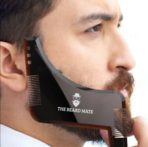 Beard-Styling-Shaping-Template-Comb-Barber-Tool-Symmetry-Line-Up-Trimming-Guide