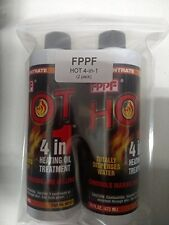 HOT 4-in-1 Heating Oil Treatment 2 x 16 Oz Bottles OEM 90161 FPPF Chemical Co