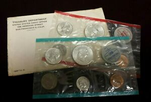 1963 P /& D Uncirculated United States US Mint Coin Set