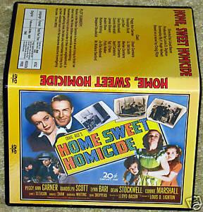 Home-Sweet-homicidio-Dvd-Peggy-Ann-Garner-R-Scott