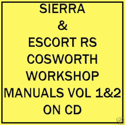 Escort cosworth workshop manual