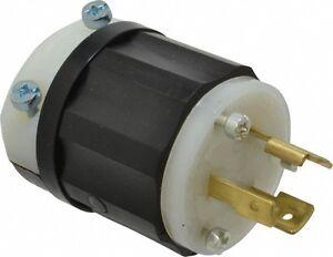 15 Amp Industrial Grade Leviton 125 VAC ML-2P Configuration Self Groundin...