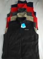 Columbia Flattop Mountain Full Zip Fleece Mens Vests
